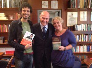con Marco Bianchi e Umberto Veronesi